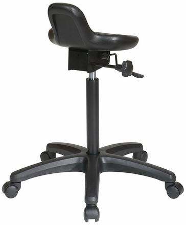 Work Smart Backless Sit-Stand Chair KH206
