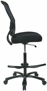 Office Star Big and Tall Mesh Drafting Chair [15-37A720D]