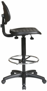 Office Star Commercial Urethane Drafting Chair [KH550]