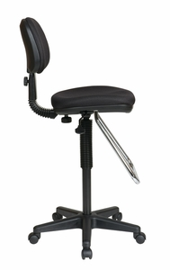 Work Smart Drafting Stool with Teardrop Footrest [DC430]