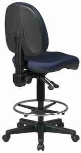 Work Smart Deluxe Ergonomic Drafting Chair DC940