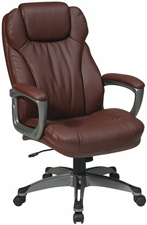 home leather office chairs work smart eco leather office chair