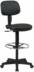 Work Smart Economical Vinyl Drafting Stool [DC517V]