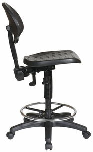 Work Smart Intermediate Height Industrial Lab Chair KH570
