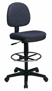 Work Smart Lumbar Support Drafting Chair DC640