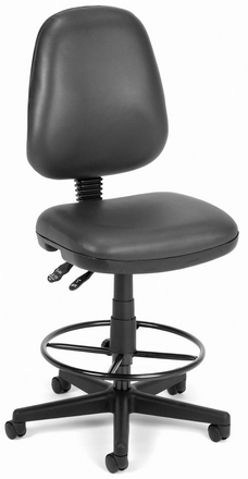 OFM Ergonomic Industrial Drafting Chair [119-VAM-DK]