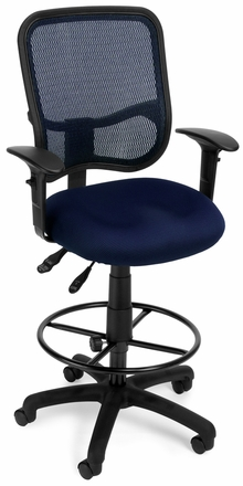 OFM Screen Mesh Drafting Chair [130-DK]