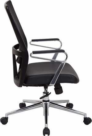 OSP Furniture® High Mesh Back Bonded Leather Managers Chair [519117HC-EC3]