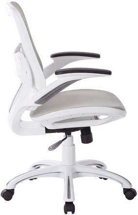 Ave Six Riley Office Chair White Mesh [RLY26-WH]