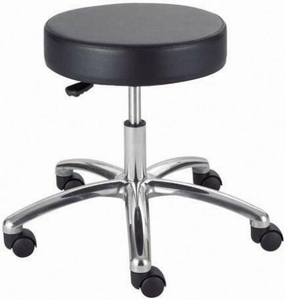 Safco Backless Stool with Wheels 3431