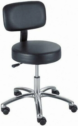 Safco Backless Stool with Wheels [3431]