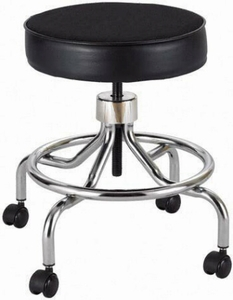 Safco Products Lab Stool with Footrest 3432