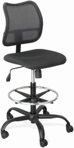 Safco Vue Mesh Back Drafting Stool [3395BL]