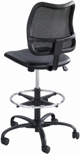 Safco Vue Mesh Back Vinyl Drafting Stool [3395BV]