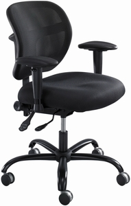 Safco Vue™ Mesh Back Big and Tall Office Task Chair 3397