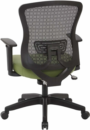 Space Seating® CHX Dark Mesh Back Managers Chair [525-3G3N11]