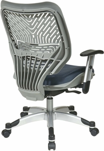 Space Seating® Fog SpaceFlex® Raven Mesh Managers Chair [86-M74C625R]