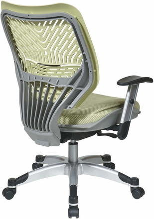 Space Seating® Kiwi SpaceFlex® Raven Mesh Managers Chair [86-M66C625R]