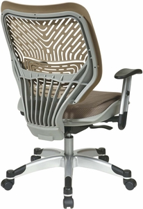 Space Seating® Latte SpaceFlex® Raven Mesh Managers Chair [86-M88C625R]