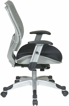 Space Seating® SpaceFlex® Fog Raven Mesh Managers Chair [86-M34C625R]