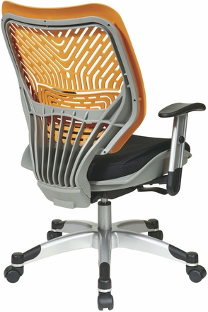 Space Seating® Tang SpaceFlex® Raven Mesh Managers Chair [86-M35C625R]