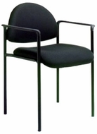 Stackable Steel Side Chair with Arms [B9501]