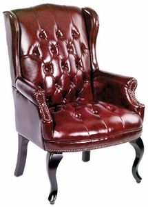 Traditional Queen Anne Style Chair By Boss B809 Free