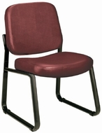 Vinyl Armless Reception Room Chair [405-VAM]