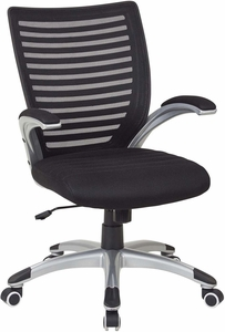 Work Smart™ Mesh Black Screen Back Managers Chair [EMH69096-3]
