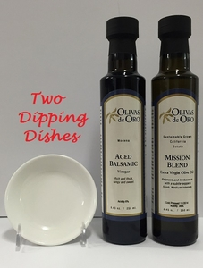 Mission Blend EVOO & Aged Balsamic (Special for holiday promotion only)