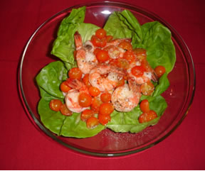 Shrimp Salad with Lemon and Horseradish Dressing
