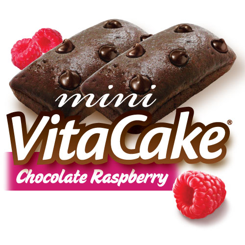 Chocolate Raspberry VitaCakes (48 Cakes)