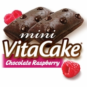Chocolate Raspberry VitaCakes (48 Cakes)*