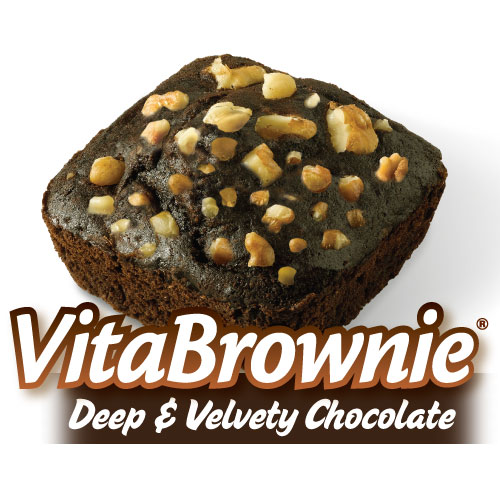 Deep&Velvety Chocolate VitaBrownies (16 Brownies)*