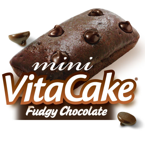 Fudgy Chocolate mini VitaCakes (24 Cakes)*