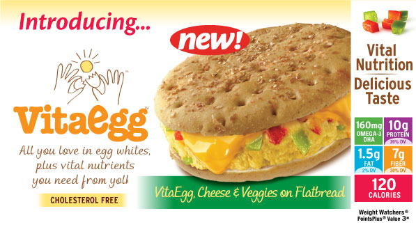 NEW! VitaEgg Sandwich