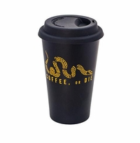 "Black Rifle Coffee ""Coffee or Die"" Stainless Steel Pint Glass"