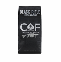 Black Rifle Coffee Caffeinated as Fuck