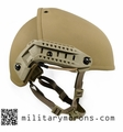 Crye Precision AirFrame Helmet with Rails - 3 Hole Drilled (R)