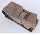 Garage Sale Velocity Systems Double M4 Pouch - Coyote - MOLLE Snap - Brand New