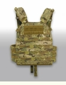 High Ground Gear Plate Carrier with Mesh Cummerbund