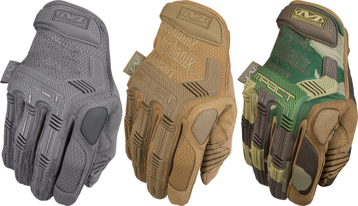 Leather work gloves m pact 2 - Mechanix M Pact Glove