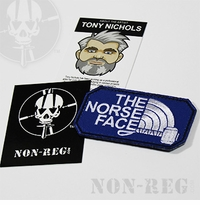 Non-Reg The Norse Face Parody Patch