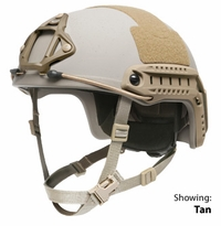 Ops-Core FAST Ballistic (XP) Helmet - Lux Liner with Worm-Dial System and Skeleton Shroud (R)