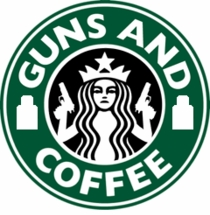 OPT The Original Guns and Coffee Patch - Small