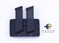 Raven Concealment Double Modular Pistol Mag Carrier