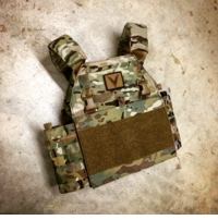 Velocity Systems Light Weight Plate Carrier with MBAV APC Shoulder Pads