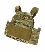 OPT-Velocity Systems Light Weight Plate Carrier with MOLLE Back Panel