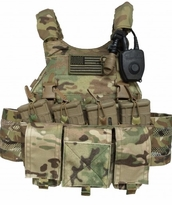 Velocity Systems Scarab Plate Carrier and Accessories