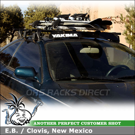 1995 Toyota Celica Car Rack Ski-Snowboard Carrier